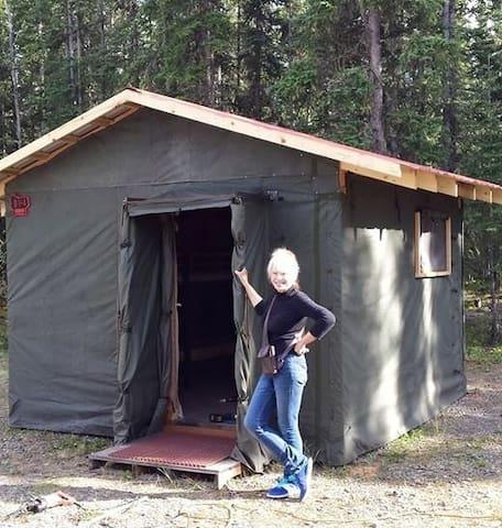 Arctic Tent Bunk-D  Alaskan Stoves Campground