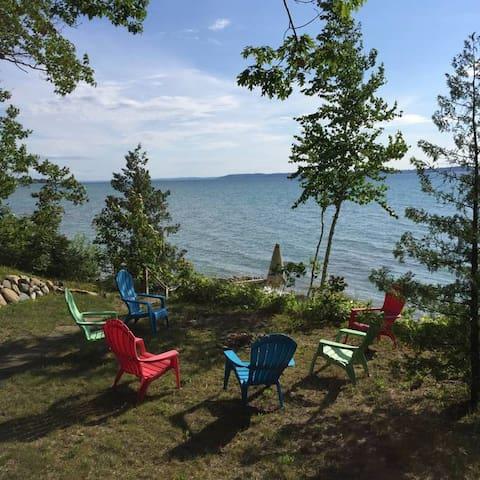 Lake Michigan Beachfront Home