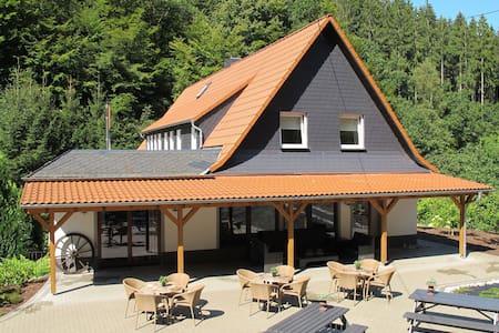 Plush Villa in Schutzbach with Sauna, Jacuzzi & Bar