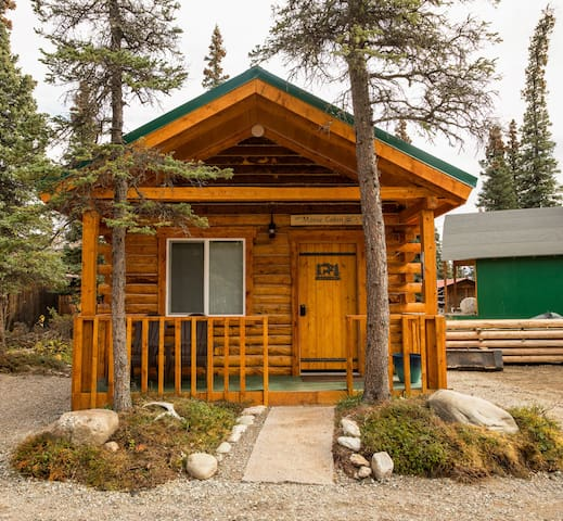 Cozy Moose Cabin Close to Park and Much More.... - Healy - Apartemen