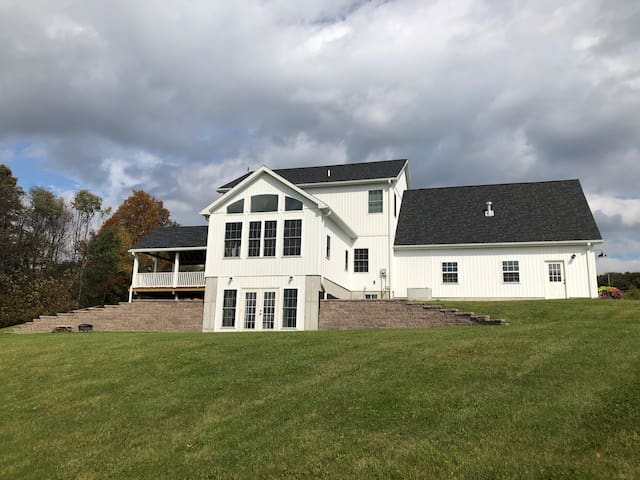 Large house for many guests near Cooperstown, NY