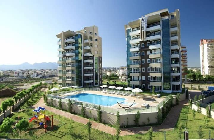 LUXURY RESİDENCE at the KONYAALTI BEACH