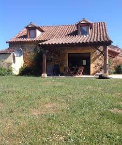 Les Cabanes tranquil detached holiday home - Saint-Caprais