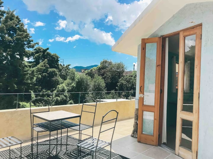Casa Salamandra -3 Rooms with roof terrace- view