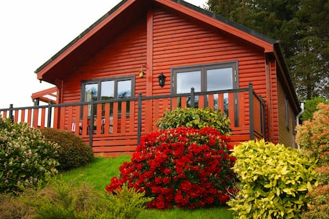 Pine Lodge, Ford - relax in tranquil seclusion.