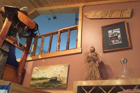 Custer Canyon Ranch THE LOFT