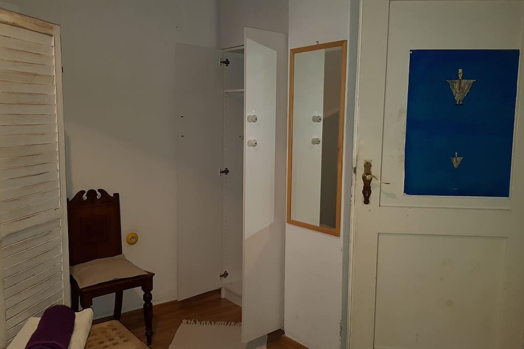 Eingang gaestezimmer