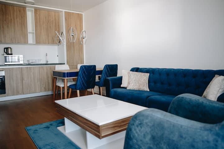 Luxury One-Bedroom Apartment 407