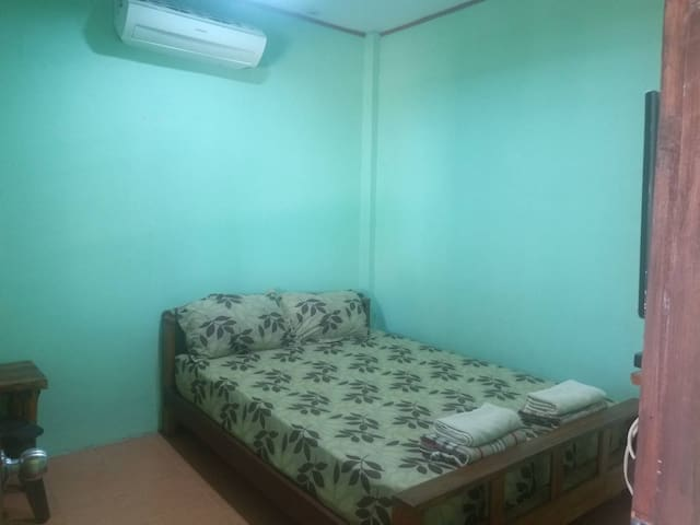 Monthly Cozy AirCon Double Room@Fruity Nice Talang