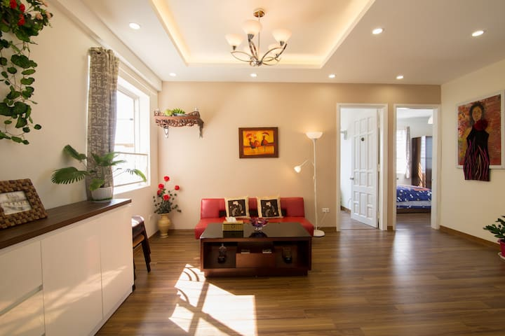 NEW room with airy/bright/great view by Westlake - Nghĩa Đô - Apartament