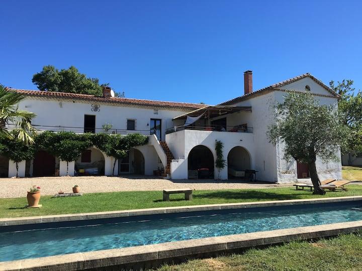 Hacienda Andalouse en Occitanie