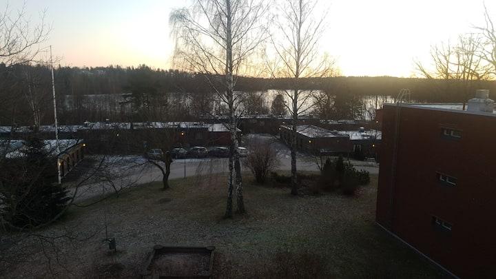Kaksio Lippajärven läheisyydessä