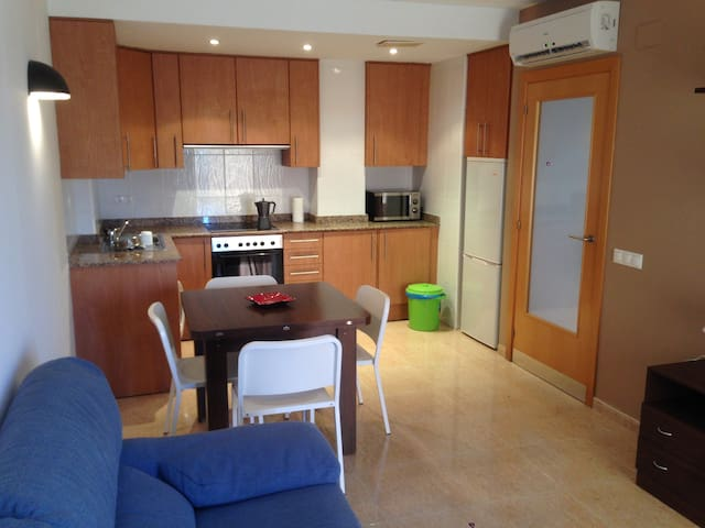 My apartment in the heart of the Ebro River Delta. - Deltebre