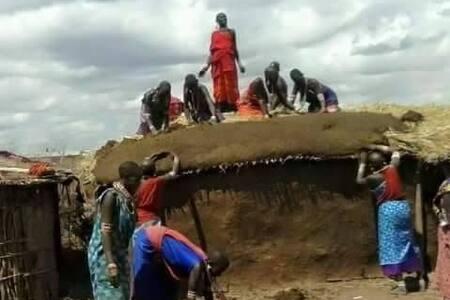 maasai  indigenous lodge