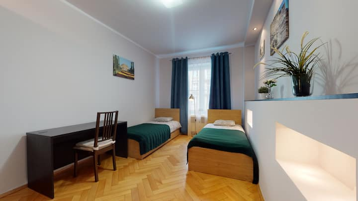 Spacious and comfortable/ Swidnicka street