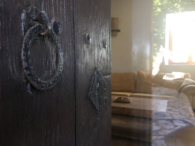 Very old original wooden Door