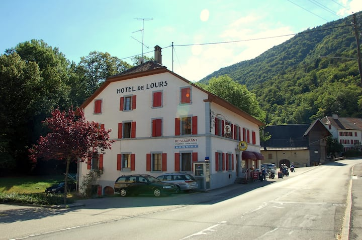 Hotel de l'Ours - Vuiteboeuf, near Yverdon