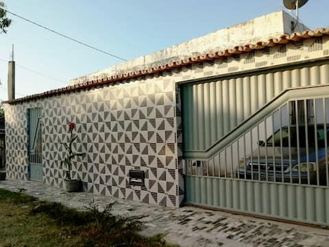 Casa de praia Ilha Barra Grande Vera Cruz Bahia.