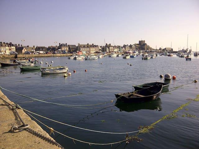 Charmante maison de pêcheur, port et plage à 2 mn - Barfleur - Wohnung