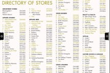The Millenia Mall Directory 1/2