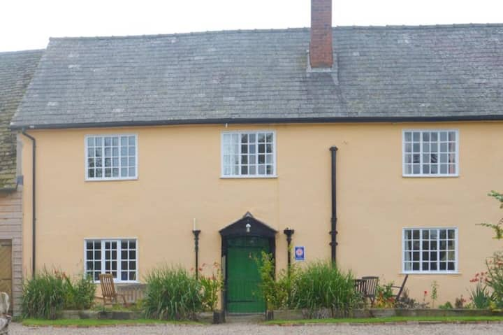 Attractive timber framed former farmhouse.
