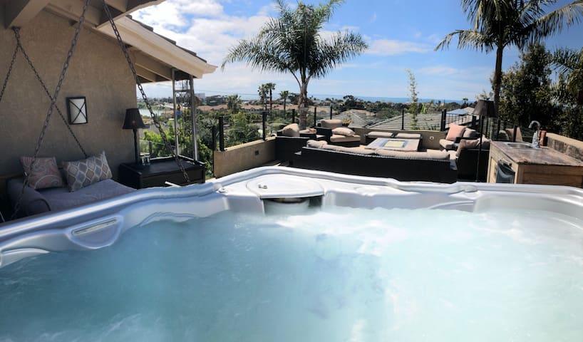 NEW LISTING.  Luxury Home/ Oceanviews in Carlsbad.