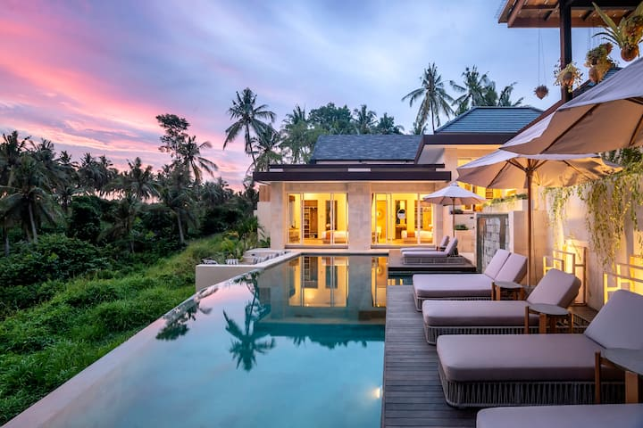 Promo -70%- 5 Bdr Villa with Pool and Jungle View