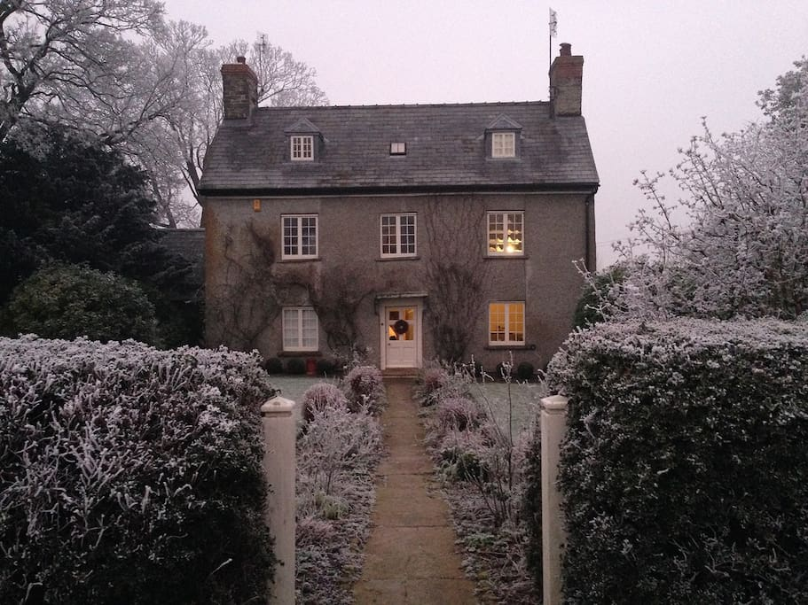Barberry House Winter