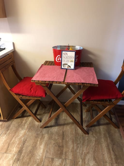 Kitchen (table for 2)
