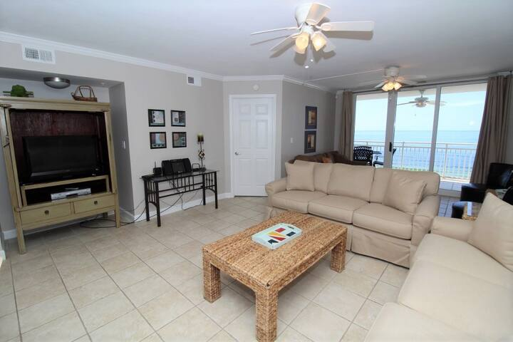 SeaSpray East 924- Beach Front Views from Terrace with Luxurious Interior!