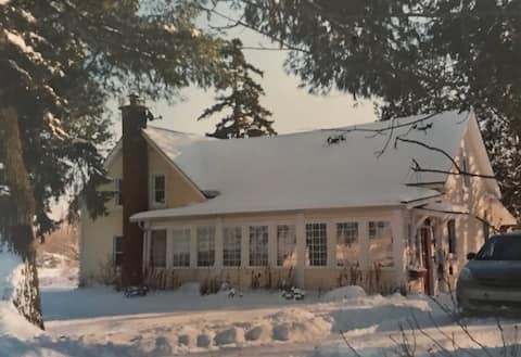 Beautiful old house on the edge of Bromont