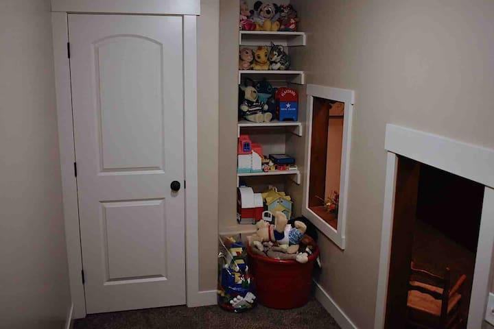 Inside of playroom