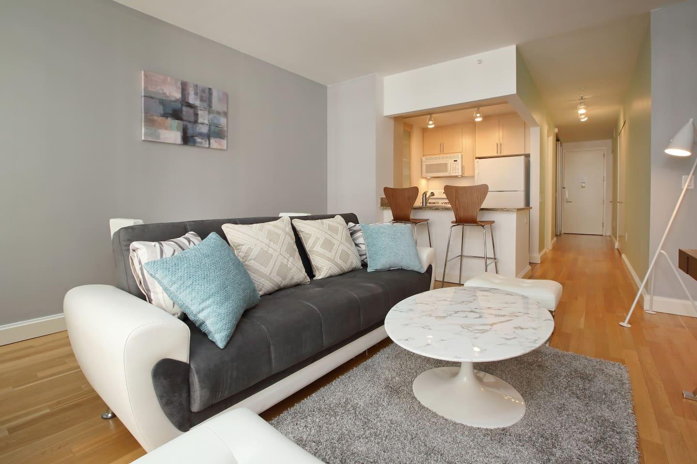 wall st design one bedroom in doorman bldg 5187 apartments for
