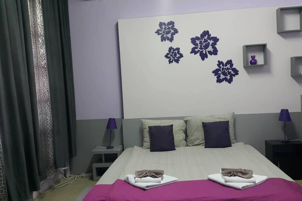 Bedroom in Bianca apartment