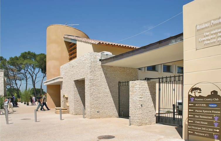 Holiday apartment with 1 bedroom on 40 m² in Saumane De Vaucluse