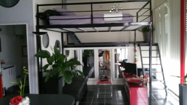 Petit loft 35m2 quartier résidentiel