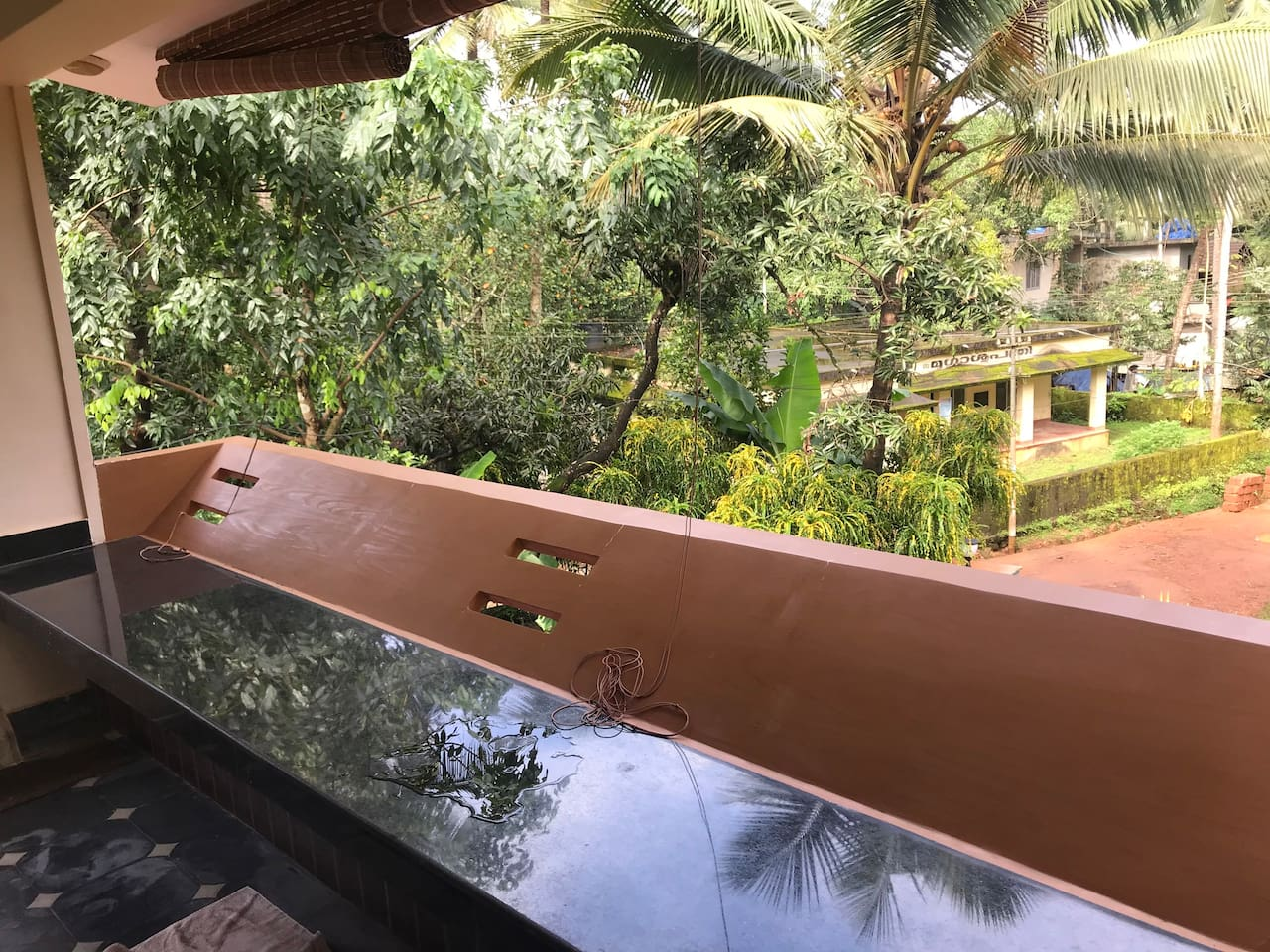 Balcony and terrace