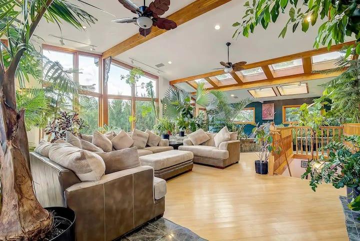 ★Phenomenal Tropical Zen Paradise in Colorado★