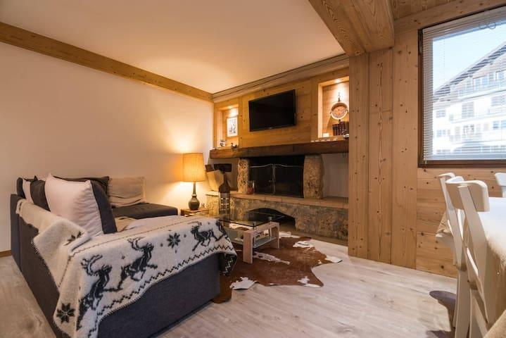 """Trs bel appartement 3 pices, Rochebrune"" - 므제브(Megève) - 단독주택"