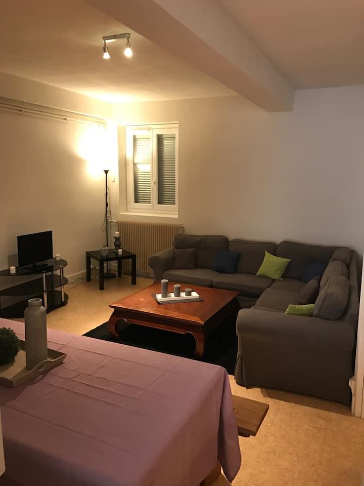 Grand appartement de 80M2 3 chambres avec terrasse