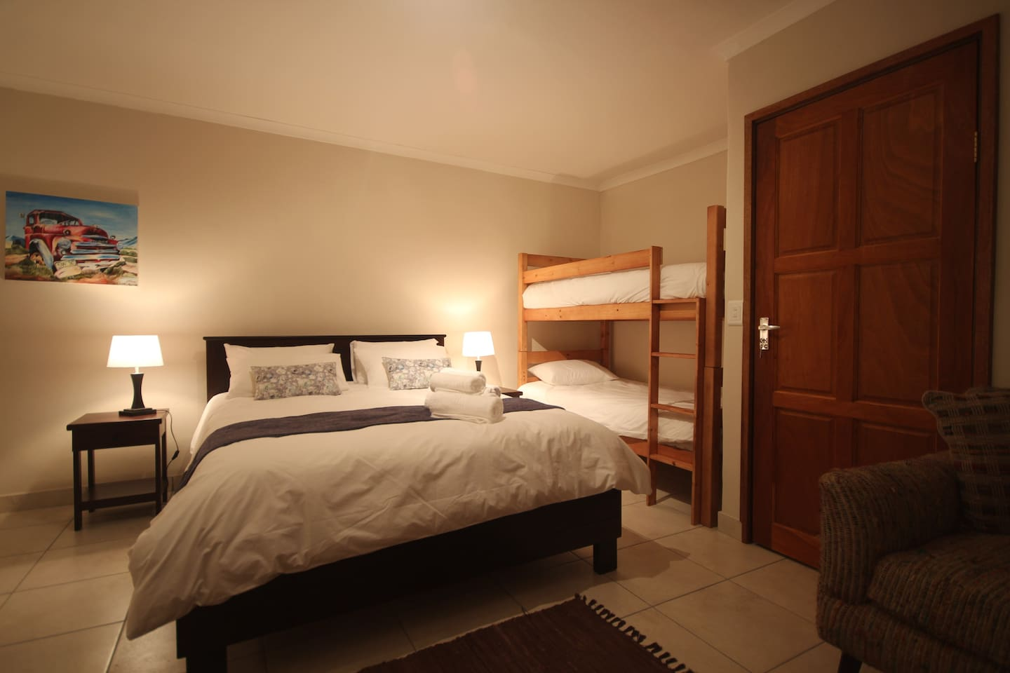Unit 3 - Queen size and bunkbed
