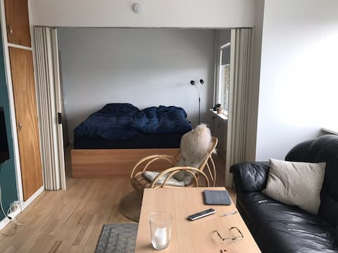 Small apartment with balcony & 1 bike