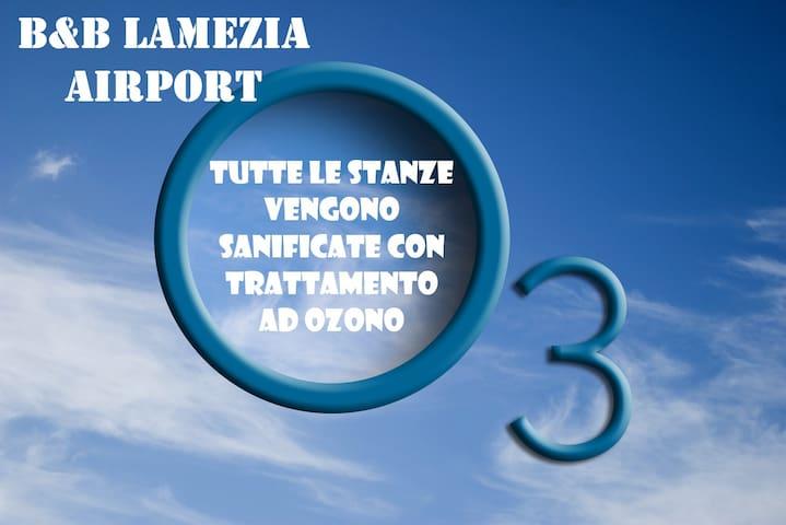 B&B LAMEZIA AIRPORT MATRIMONIALE/DOPPIA ST°3