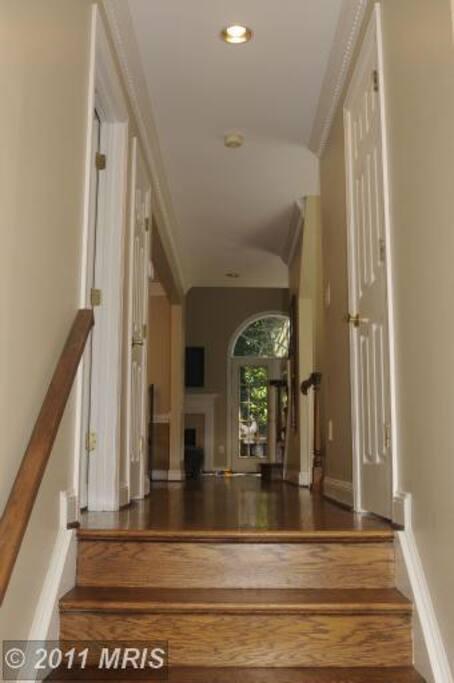 Main door entry