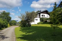 Ferienwohnung Attersee mit Panoramablick