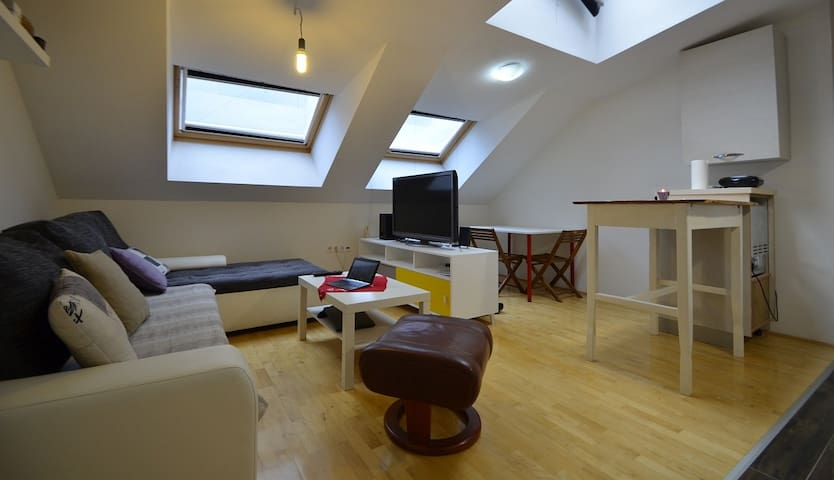 Loft appartment in a new building (Tresnjevka)