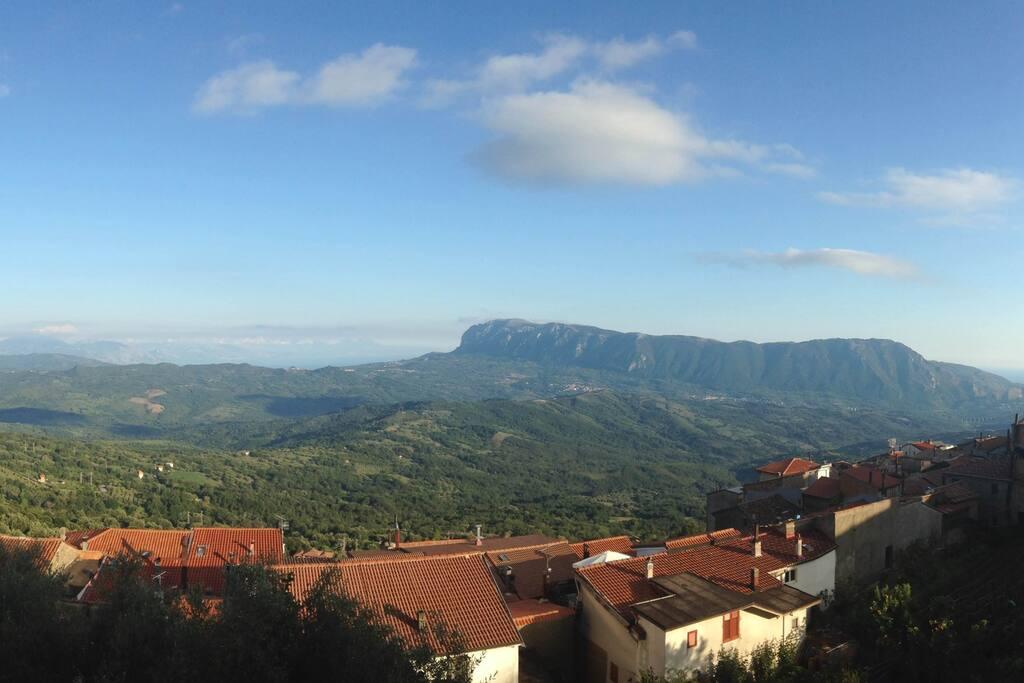 panorama di Montano Antilia