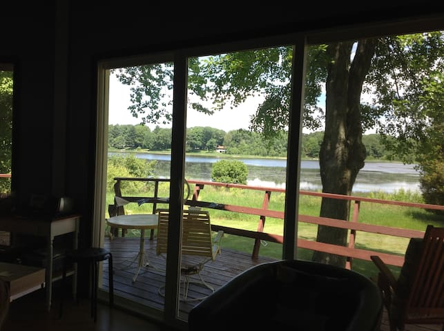 Family friendly relaxing waterfront house - Ludington