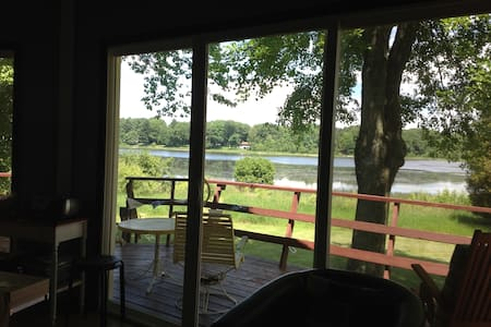 Family friendly relaxing waterfront house - Ludington - Haus