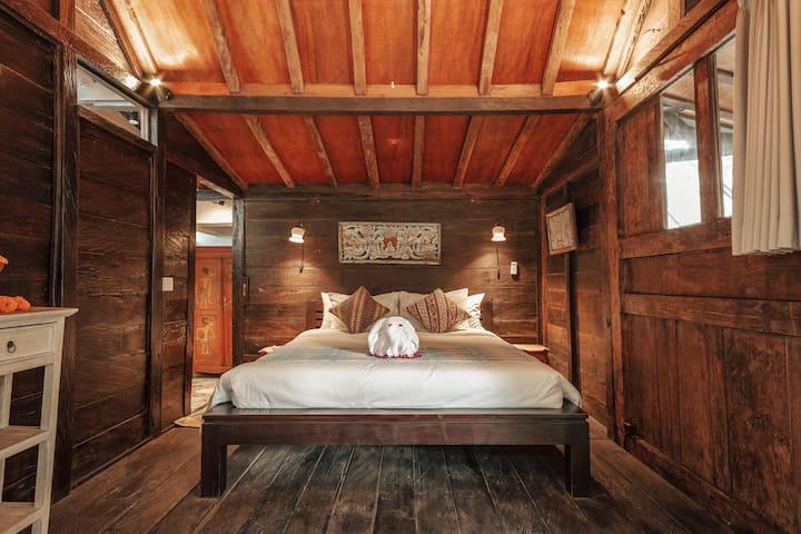 Arjuna Room: Javanese Gladak House ✦ Glass Roof